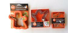 Halloween Cookie Cutters~~Wilton~~Ghosts + 6 Mini Size Cutters