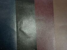 "Bonded Leather, book binding, (1 piece 12""x24"") burgundy,black,mohogany or blue"