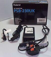 Roland PSB1U 9 V AC 2000 mA (2amp) PSB230UK jefe de la Fuente de alimentación-incluye Figura 8 de plomo