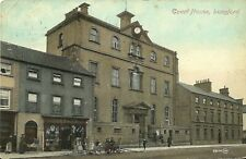 LONGFORD COURT HOUSE P KELLY SHOP POSTED THOMASTON USA 1911 VALENTINE DUBLIN PC
