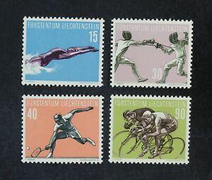 CKStamps: Liechtenstein Stamps Collection Scott#320-323 Mint NH OG
