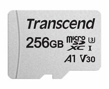 Transcend Micro SD 256 GB 300S 95MB/s Read 45MB/s Write Flash Memory Card New ct
