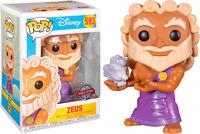 ZEUS with Pegasus Cloud Hercules Disney Funko Pop Vinyl New in Box