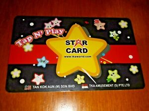 VIRTUALAND Gaming Token Star Card, plastic used