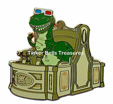 DISNEY Pin LE 300 WDI -Toy Story Midway Mania Attraction Vehicle - Rex