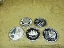 2008 , 5 x 10 Euro Silber PP , Jahrgang komplett