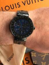 Louis Vuitton Tambour Horizon QA00.2 Digital Smart Watch Mens 43mm 100%AUTHENTIC
