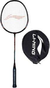 LI-NING Smash XP 505 Pro Black, Orange Strung Badminton Racquet Racket