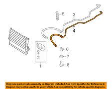 BMW OEM 2000 528i 2.8L-L6 Transmission Oil Cooler-Outlet tube 17221714510