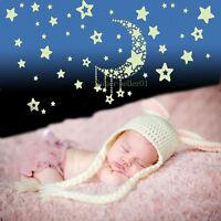 Night Glow In The Dark Stars Wall Stickers Child Kids Bedroom Nursery Room Decor