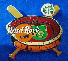 SAN FRANCISCO BASEBALL BARRY BONDS HOME RUN 73 GIANTS DODGERS Hard Rock Cafe PIN
