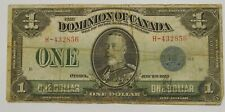 Dominion of Canada - 1923 - $1 Large Size Bank Note
