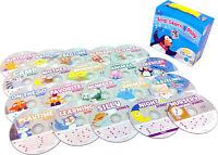 NEW Sing Learn & Play Toddler Preschool Learning Fun [Audio CD, 20-disc Set]