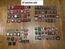 """PATCH MILITARY UKRAINE Battalion  """"RIGHT SECTOR"""" SALE COLLECTION 97 patches!!!!"""