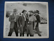 Leo Carillo written on Photo 8X10 B&W not sure of movie or stars