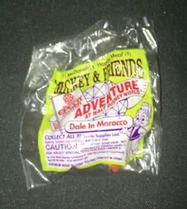 McDonalds Happy Meal Toy Dale in Morocco Epcot Figure 1993 NIP 807-824