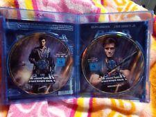 Dolph Lundgren The Punisher 1989 Marvel German region B Bluray & DVD WORK PRINT