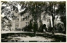 Wisconsin, WI, Ladysmith, Rusk Co Court House Real Photo Postcard