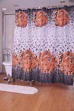 Léopard Sauvage Imprimé Animalier Rideau Douche 180cm X Polyester Avec Crochets