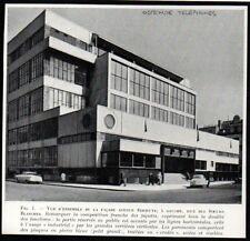 1954  --  BELGIQUE OSTENDE  NOUVEL IMMEUBLE DES TELEPHONES AV SERRUYS   3P559