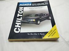 Chilton Honda Civic 1984 to 1995 Repair Manual 30200