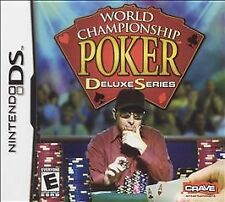 World Championship Poker: Deluxe Series (Nintendo DS, 2005) COMPLETE   FAST SHIP