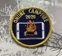 Online Campfire 2020 Badge Virtual Scouting, Guiding Cubs Brownies Scouts Guides