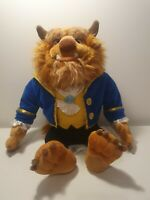 "Disney Store Exclusive 20"" Beauty & The Beast Beast Plush Great Detail"