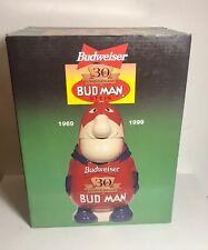 """New listing Vintage 30th AnniversaryBudweiser """" Bud Man Stein"""" - Cs401 - Nib - 1999"""