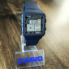 CLEAN Vintage 1988 Casio AE-22W Twin Graph II Watch, Made in Japan, Module 808