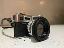 Yashica Electro 35 Gsn 35mm Slr Vintage Camera Made in Japan Excellent
