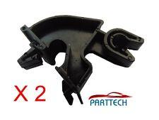 Vauxhall CORSA C MERIVA TIGRA COFANO dimora Clip Braccio Rod Prop X2 Nero