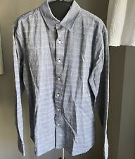 Adriano Goldschmeid AG Standard Fit Button Up Size M