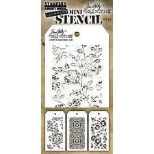 Tim Holtz Mini Layering Stencil ~ SET 25 ~ THMST025 ~ Stampers Anonymous