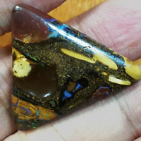 Fascinating big 42.85CT #VIDEO Great Pattern Australian Matrix Boulder Opal