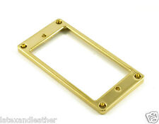 METAL HUMBUCKER RING LOW FLAT - GOLD FITS GIBSON & CHARVEL JACKSON MRML3GD