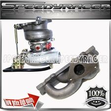 Toyota Celica 1ZZ Cast Iron Manifold + TD06 20G Upgrade Turbo Charger