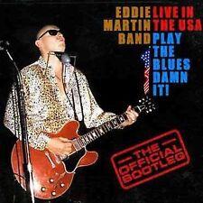 Live in the USA by Eddie Martin Band (Guitar)/Eddie Martin (Guitar) (CD,...