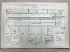 Smith's Graving Docks: South Bank On Tees: 1908 Engineering Magazine Print