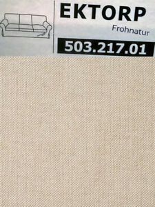 Ikea EKTORP Bezug für 3er Sofa Lofallet beige 503.217.01 neu Wechselbezug Husse