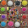 NEW 6mm 8mm 10mm Size Acrylic Flat Spacer Beads Loose Beads Jewelry Making Pick