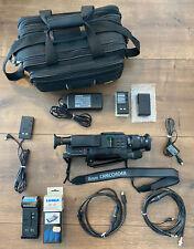 Universum VKR4612 Camcorder - 8mm Video Kamera Recorder + Zubehörpaket + Tasche