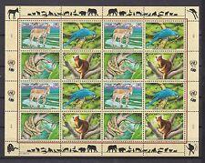 UNO Genf 1999 postfrisch MiNr. 369-372  Gefährdete Arten