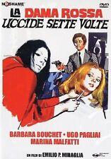 La Dama Rossa Uccide Sette Volte (1972) DVD
