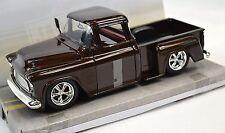 Chevrolet Stepside Pickup 1955 Red 1 24 Big Time Kustoms Jada 90160