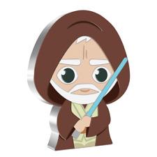 2021 - 1 Oz Silver Proof - Chibi Coin Star Wars Series – Obi-Wan Kenobi