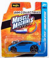 2014 Maisto Muscle Machines Garage HONDA CIVIC SI Tooned Die-Cast 1/64 Blue