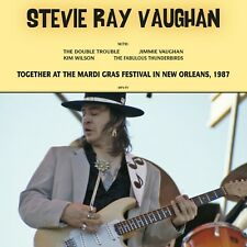 Stevie Ray Vaughan - Together at the Mardi Gras - NEW SEALED import 180g LP