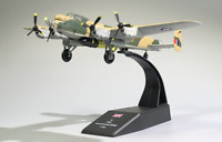 New 1:144 WWII UK Lancaster Dam Bustter With Bomb Bomber Aircraft 3D Alloy Model