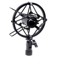 Metal Handheld Condenser Microphone Shock Mount Clip mic Studio Holder 29-33mm